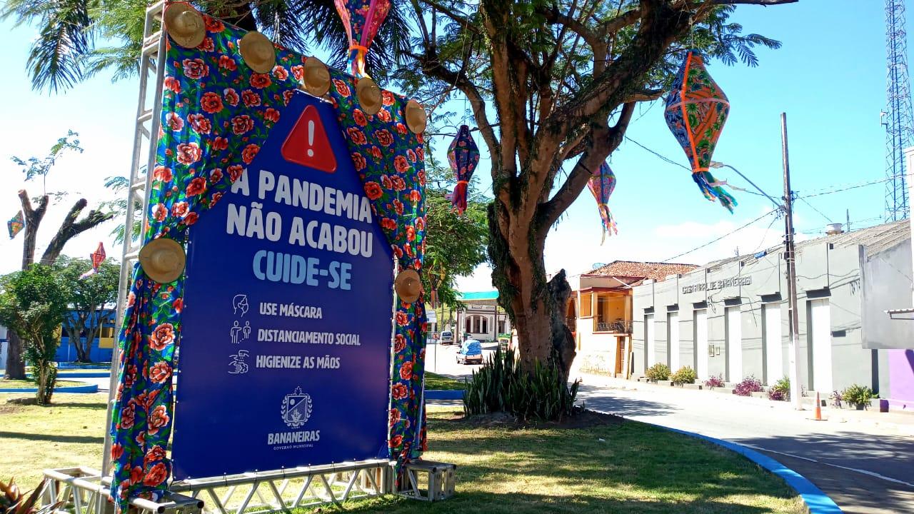 Prefeitura Municipal anuncia a não realização do tradicional São João de Bananeiras