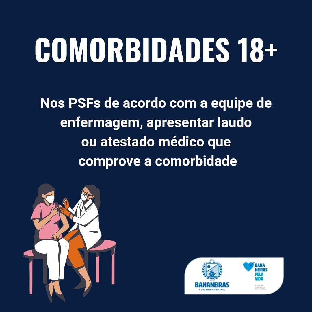 Secretaria de saúde municipal divulga novo cronograma de imunização contra COVID-19 no município