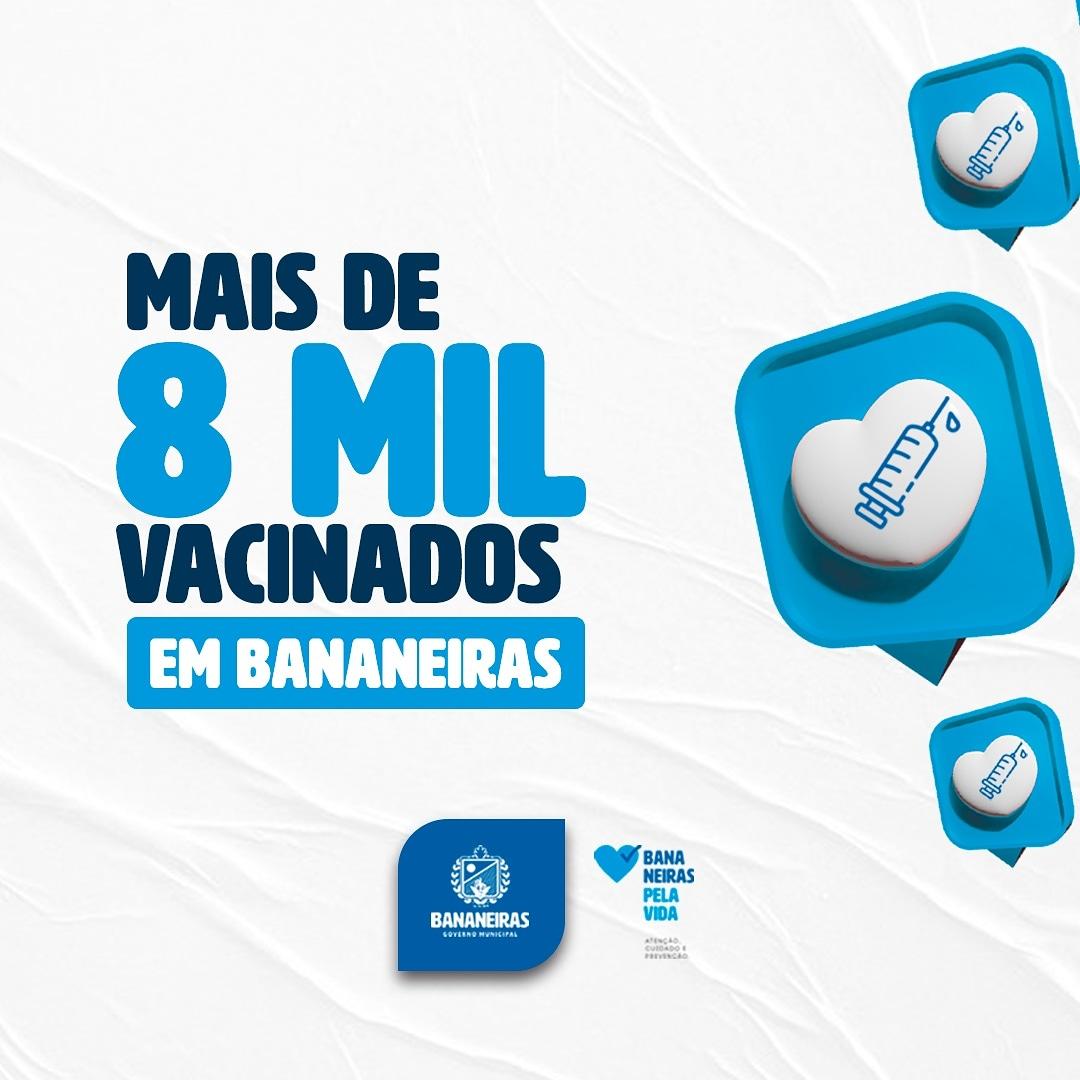 Gestão Municipal comemora os avanços da imunização no município