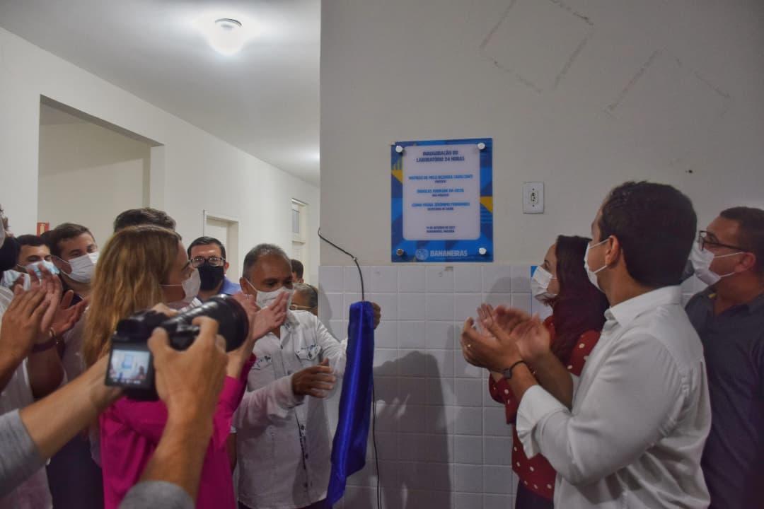 Governo Municipal inaugura o Laboratório 24h